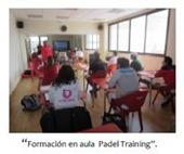 aulas de formación en indoor padel training rivas vaciamadrid