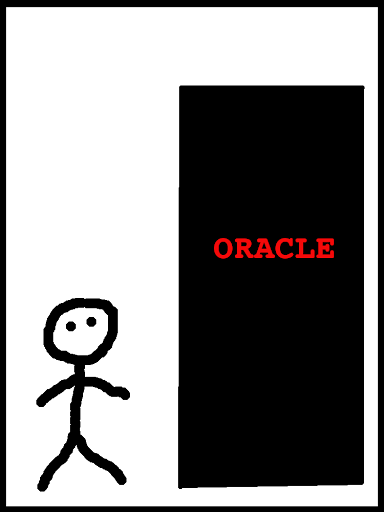 oracle as a black box...in the beginning