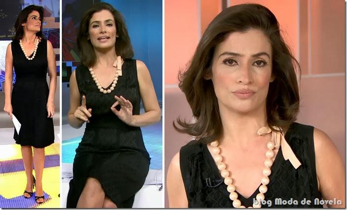 moda do programa fantástico - renata vasconcellos dia 09 de fevereiro de 2014