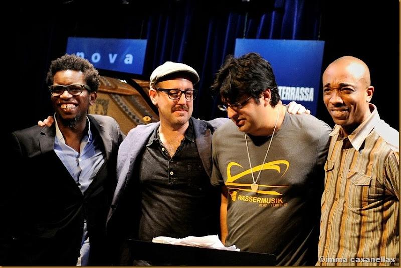 Aruán Ortiz, John Hébert, Rez Abbasi i Eric McPherson, Nova Jazz Cava, Terrassa 2013