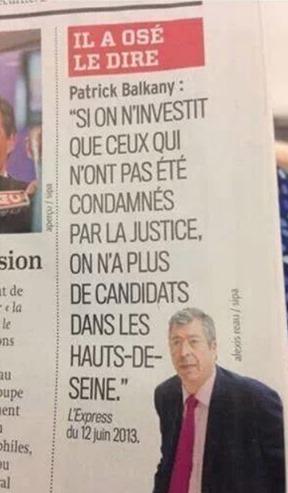 Candidat UMP per las eleccions senatorialas
