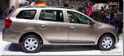 Dacia Logan MCV 2013 14