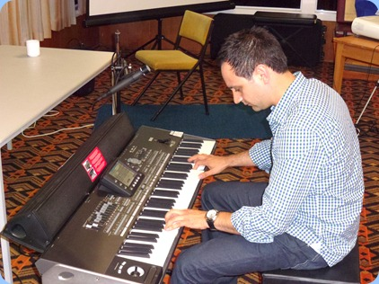 Kane Steves demonstrated the magnificent sound and features of Korg's latest top-of-the-range arranger keyboard, the Korg Pa3X. The instrument comes in a 61 note and 76 note version.