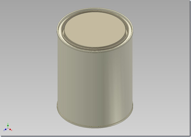 3d Solid Modelling Videos Round Tin Container Autodesk