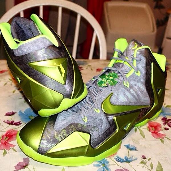 Unseen Nike LeBron XI 11 8220Dunkman8221 Player Exclusive