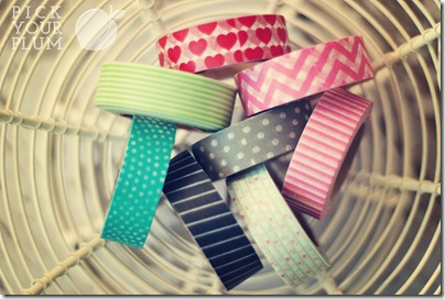 Valetine Washi Tape 1