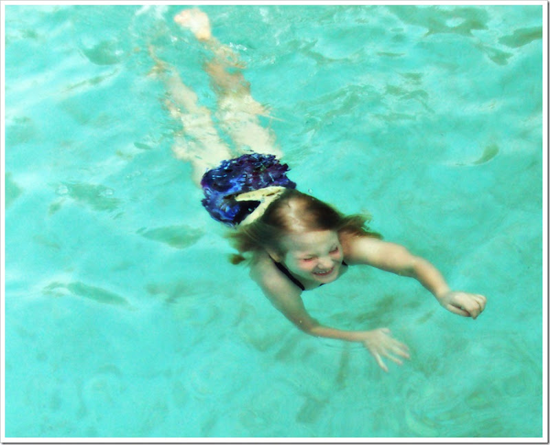 blayne swimming underwater april 2011