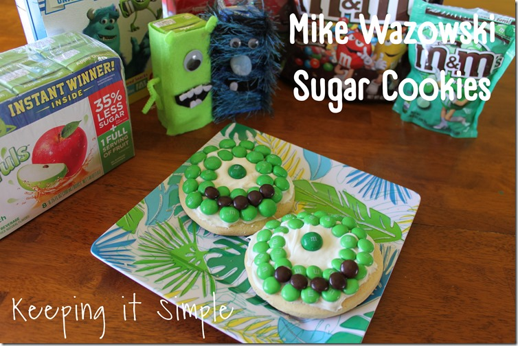 Mike Sugar Cookies