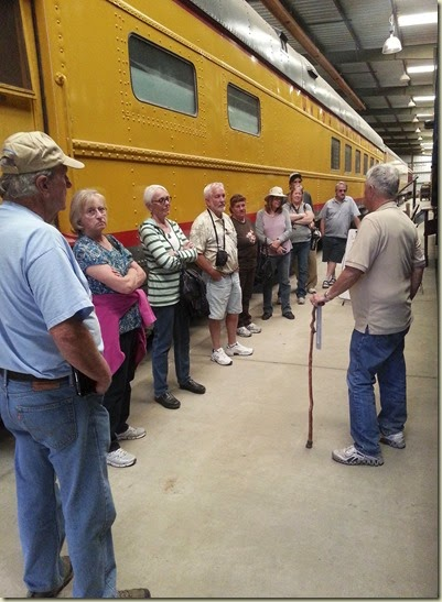 Norm & Car Barn Tour Orange Empire Railway Museum 20140223