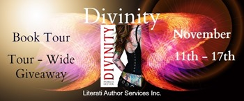 {Review+Giveaway} Divinity by @Patricia_Leever