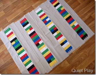 Quiet Play 4 Lego borders
