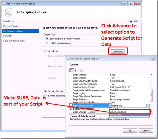 How to backup SQL table ?