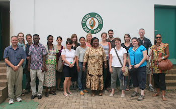 'Visiting the Kuapa Kokoo Cocoa Coop outside of Kumasi' Photo by Sandra Vu