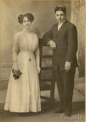 June 29 1911 Frank and Mae  nee Abbott Lemon