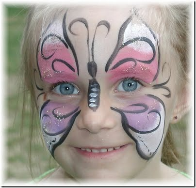 maquillaje mariposa halloween (5)