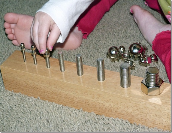 Nuts and Bolts Board