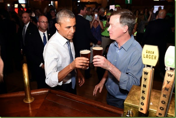 Obama-Hickenlooper. doing ad for Wynkoop jpg