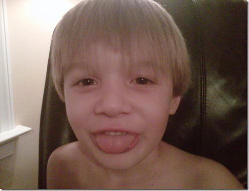 kyle haircut