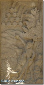 Monumento al Auroro - Lluvia de estrellas en la aparición de la Virgen del Puy