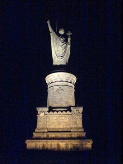 Urbano II, estatua, Clermont-Ferrand