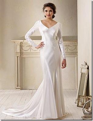 vestido de novias sencillos de bella swan en fotos