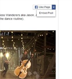 Cómo embeber posts de Facebook en nuestro blog o sitio web