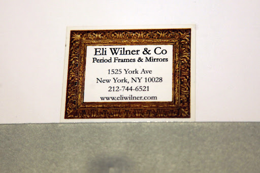 No wonder, Franny!  The back says it's from Eli Wilner & Co.  He must have gifted it to Martha when he presented her with an award at the Olana Partnership!  How interesting!