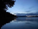 Danau Gunung Tujuh seen from the campsite (Dan Quinn, May 2013)