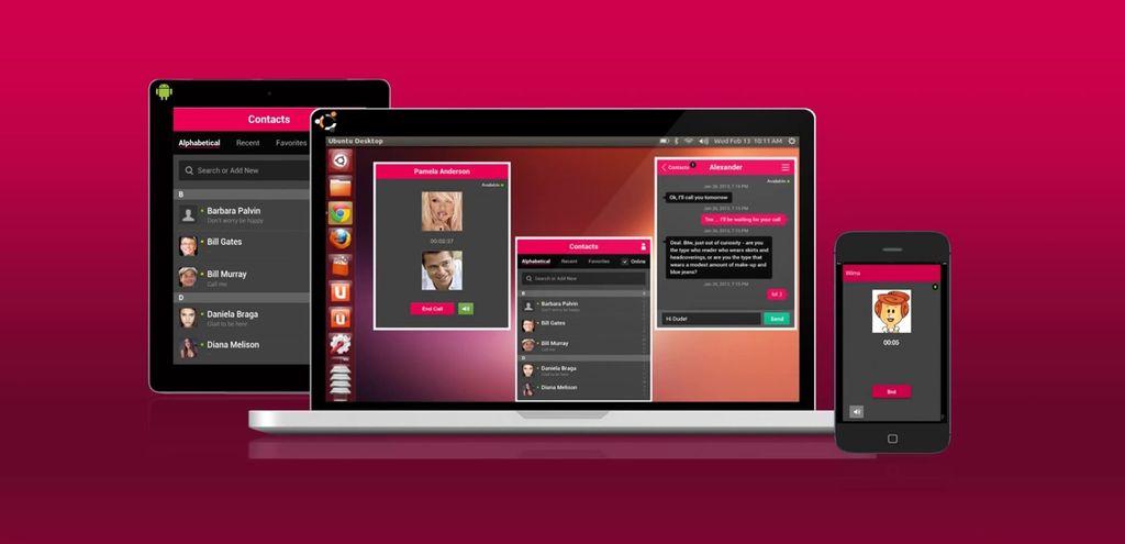 Wync, client Microsoft Lync in Ubuntu Linux e Android
