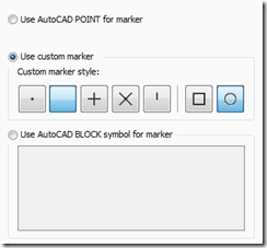 Marker Display Type