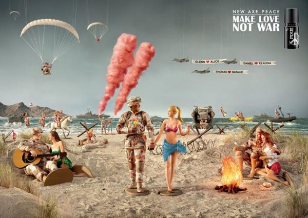 Creatividad publicitaria axe2