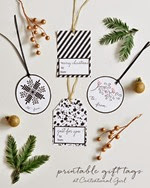 Centsational Girl - Gift Tags