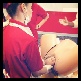 childbirth training