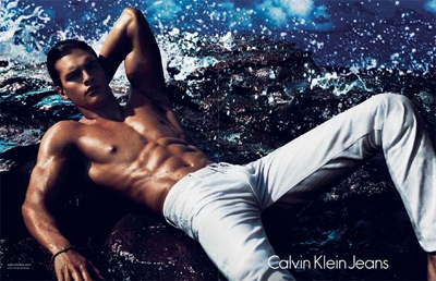 Mathew Terry by Mert & Marcus for Calvin Klein Jeans, S/S 2012.