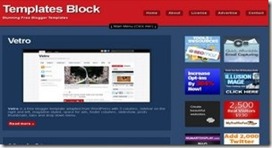 top 20 free blogger templates sites 16 Templates Block