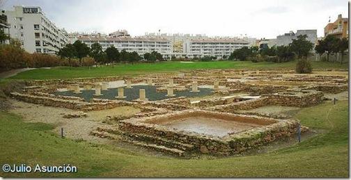Villa romana Casa Ferrer - Vista general