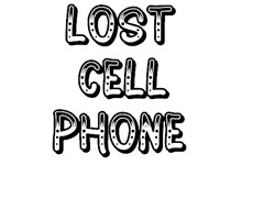 cell phone lost