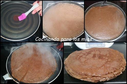 CREPES DE CACAO