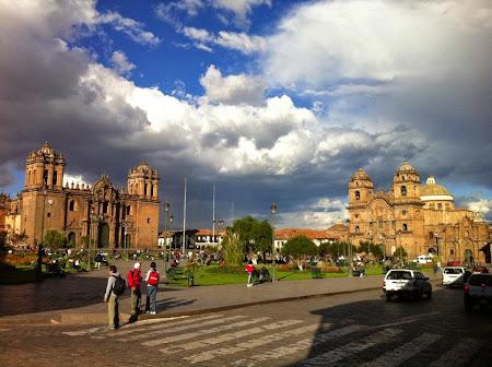 Doi romani si-un tricolor in jurul lumii:.Cuzco, Peru