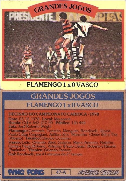 47-A - Flamengo 1x0 Vasco