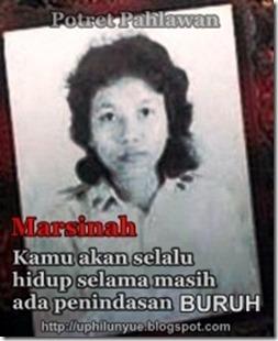 foto Kasus terbunuhnya Marsinah pejuanga kaum buruh