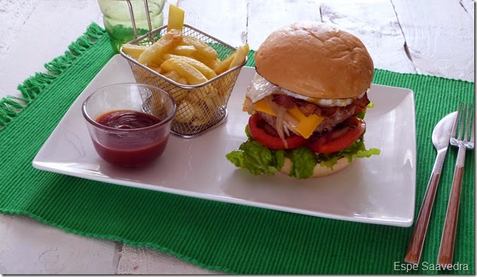 hamburguesa casera comlpeta espe saavedra