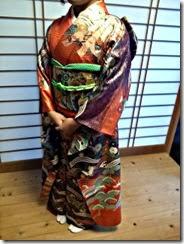 袴と振袖で卒業式の前撮りを (5)