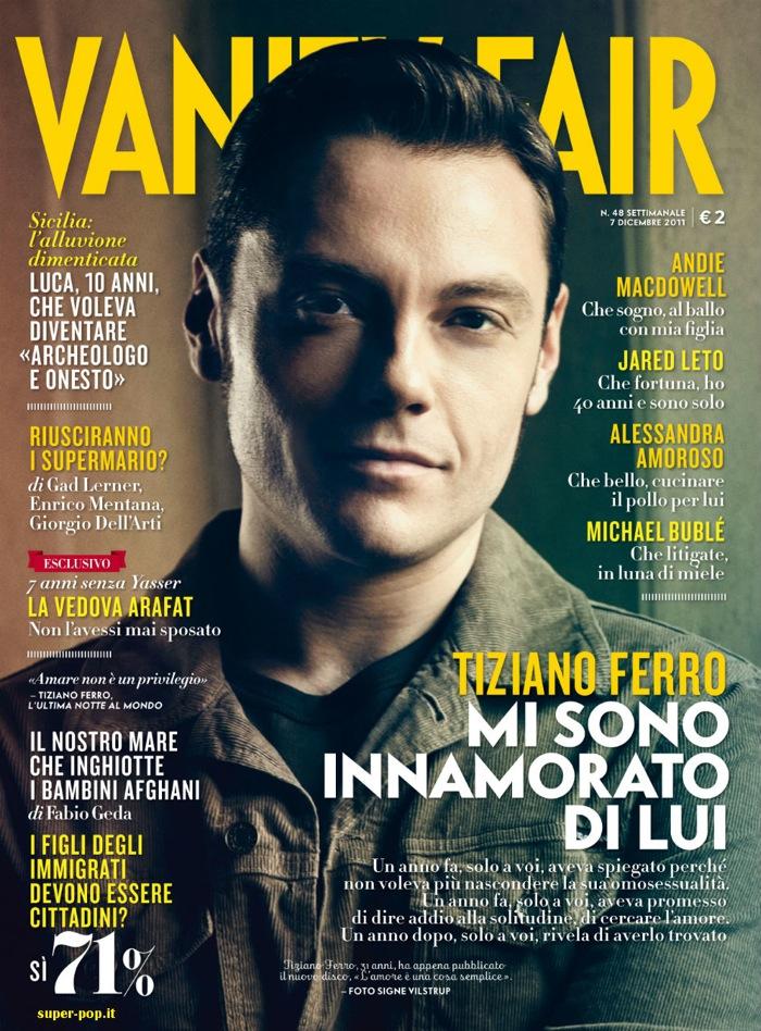 Tiziano Ferro Vanity Fair 07 12 2011
