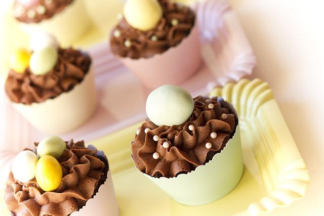 enkle og søte cupcakes til påske IMG_6281