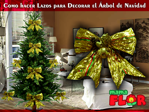 lazos elegantes para decorar el rbol de navidad