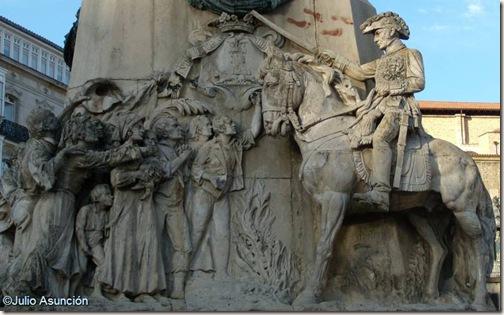 Wellington triunfante - Monumento a la batalla de Vitoria