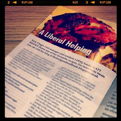#333 - Ad Lib magazine Coca Cola ham recipe
