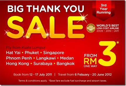 Airasia Big Thank You