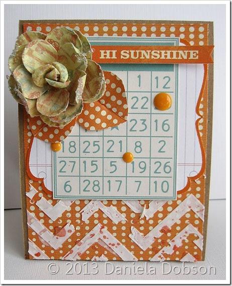 Hi sunshine by Daniela Dobson